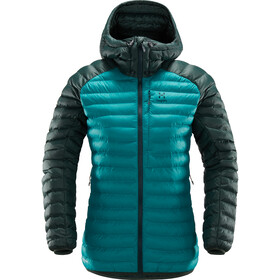 Haglöfs Essens Mimic Hood Jacket Women alpine green/mineral